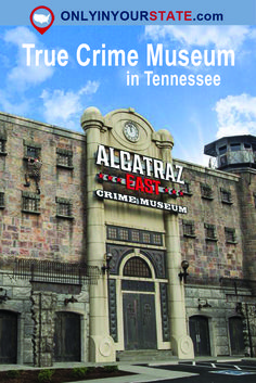 Check out Alcatraz East Crime Museum if you're looking to explore the dark history of crime in the United States from the nearby comfort of Tennessee. Visit Tennessee, Tennessee Vacation, Nashville Tennessee, Pigeon Forge Tennessee, Gatlinburg Vacation, Gatlinburg Tn, Gatlinburg Tennessee Attractions, Pigeon Forge Attractions, Clarksville Tennessee