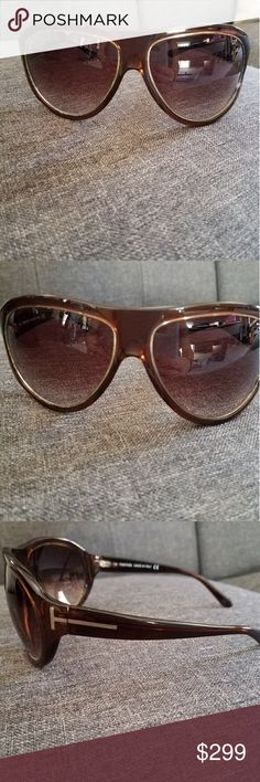 ❣Unisex Tom Ford Sunglasses❣ Angus Burgundy TF25 Tom Ford Sunglasses Unisex  Made in Italy 2012 Collection Great condition, no scratches  Comes with case Tom Ford Accessories Sunglasses