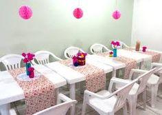 decoração festa simples em casa - Pesquisa Google