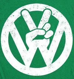 Woodstock VW shirt.