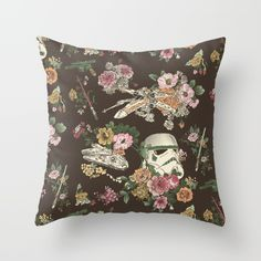 Buy Botanic Wars Throw Pillow by Josh Ln. Worldwide shipping available at Society6.com. Just one of millions of high quality products available.