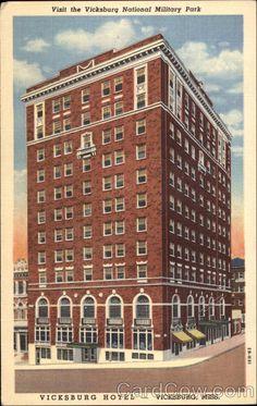 Vicksburg Hotel Mississippi