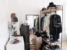 The No Closet Garment Rack Closet (19 Winning Examples + Where To Buy Them)