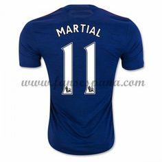 Camisetas De Futbol Manchester United Martial 9 Segunda Equipación 2016-17