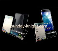 Perspex manufacturers customize retail cell phone display stands CPK-066