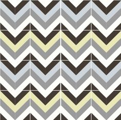 Bruges pattern cement tile in ebony, cloud, pebble, lily and sky.