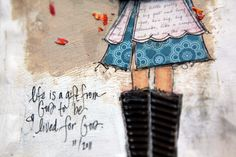 Yes and Amen blog...a beautiful and inspiring blog w/ art journaling ideas and precious photos!