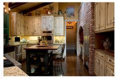 Kitchen--French Provincial