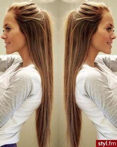 Fryzury  Rozpuszczone włosy: Fryzury Długie Na co .