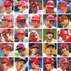 the many faces of Mike Trout    Hahahaha love.
