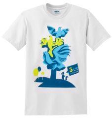 SZCZECIŃSKIE KOSZULKI:  Koszulka damska 3 Orły