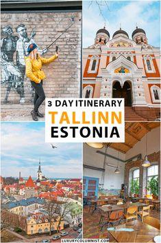 3 Day Itinerary for Tallinn, Estonia | The best things to do in Tallinn | Kalamaja | Tallinn Old Town | Kadriorg | TV Tower | #Tallinn | #Estonia | #EuropeTravel | #TravelTips