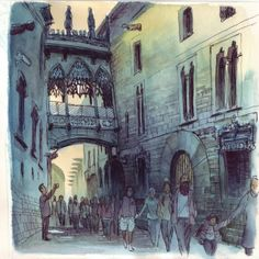 Urban Sketchers: BARCELONA ONE MORE TIME
