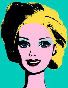 pop art Barbie
