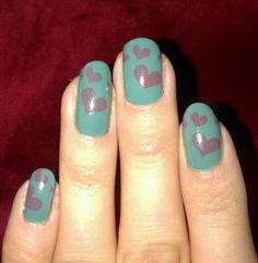 cutesville HEART VALENTINE #nail #nails #nailart