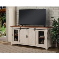 Shop for Martin Svensson Home Taos TV Stand. Get free shipping at Overstock.com - Your Online Furniture Outlet Store! Get 5% in rewards with Club O! - 21249253
