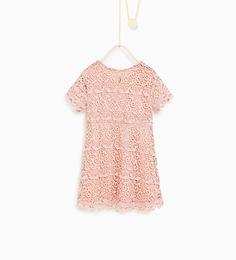 ZARA - KIDS - Guipure lace dress