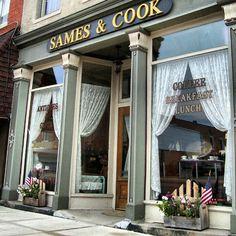 Sames and Cook, Mt. Gilead, OH; cbusloop1. #LoopBackroads #MtGileadOhio #Ohio #SamesandCook #backroads