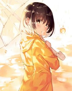 I love anime, manga and almost everything about japanese culture, so i decided i will post wallpapers and pictures of anime girls/guys/landscapes etc. Manga Anime, Anime Hair, Sad Anime, Manga Art, Anime Girl Cute, Beautiful Anime Girl, Kawaii Anime Girl, I Love Anime, Anime Girls
