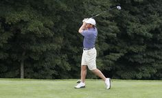 Brad Richards with a perfect swing. (MSG Photos)