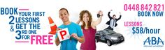 Book Yourself to Learn Quick Driving With The Best Driving Instructor at ABA Driving Academy, local Driving School North Brisbane With Driving Instructor Scarborough, Driving Instructor Margate.    http://abadriving.com.au/