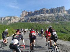"La mia prima ""Maratona dles Dolomites"""