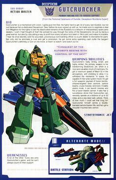 Transformer of the Day: Gutcruncher
