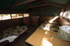 Interior of Big Basin tent cabin. by jamison.gray, via Flickr Big Basin Redwoods, California Dreamin', Tent, Cabin, Gray, Interior, Home Decor, Store, Decoration Home