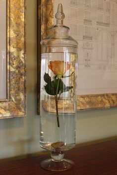 Want a different way to display your Valentine roses? I have seen pictures of elegant dinners where the party planner/floral designer had s...