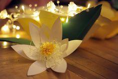 #paperflowers #lotus #weddingdecorations #papercrafts Wedding Decorations, Table Decorations, Paper Flowers, Lotus, Bouquet, Paper Crafts, Bride, Design, Home Decor