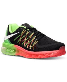 reputable site c346b 4f124 Nike Women s Air Max 2015 Running Sneakers from Finish Line   Reviews -  Finish Line Athletic Sneakers - Shoes - Macy s