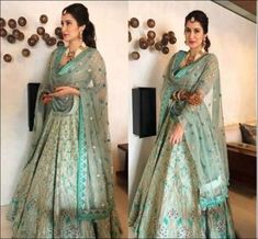 Glimmering Gota Patti Lehenga Ideas to Add Bling to Your Bridal Look Indian Party Wear, Indian Wedding Outfits, Bridal Outfits, Indian Outfits, Wedding Dresses, Indian Weddings, Indian Wear, Reception Dresses, Indian Attire