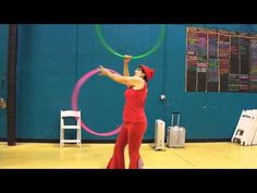 The Fountain - A Tutorial for Two Hoops - YouTube