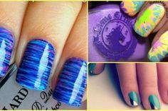 step by step nail art tutorial