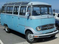 Old Merc Bus / Campervan...  http://www.motorhome-travels.co.uk/