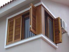 Best door and windows wooden 40 ideas Wooden Window Design, Window Grill Design Modern, House Window Design, House Outside Design, Village House Design, Door Gate Design, Kerala House Design, Door Design Interior, House Front Design