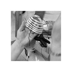 Mariana's Hands.  Calada handmade espadrilles by Ball Pagès