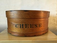 Vintage Pantry Cheese Box / Shaker Style by RedRavenCollectibles #GotVintage #antiquecheesebox