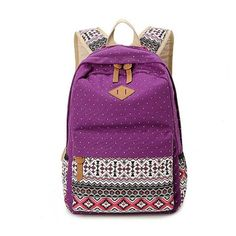 6bc31da42f ZOORON Korean Canvas Printing Backpack Women School Bags for Teenage Girls  Cute Bookbags Vintage Laptop Backpacks Female