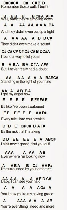 Flute Sheet Music: Halo click the link below the picture to get the rest of it