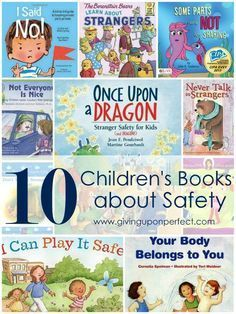 10 Children's Books about Safety and Stranger Danger