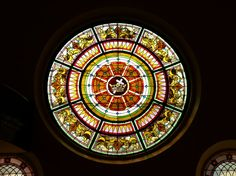 Rose Window at Central Methodist Church