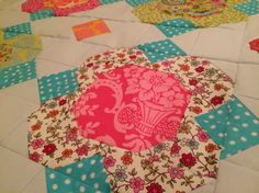 "My Best Fat Quarter Quilt Challenge -- remaking Amanda Murphy's ""Yorkshire Park"" pattern with favorite fat quarters"