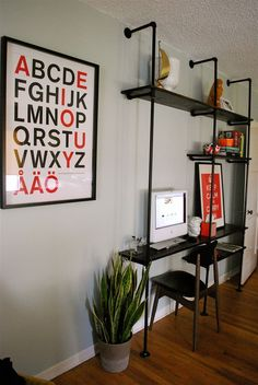 Yes! I have been looking for this tutorial since I saw it on HGTV. Consider this done. #husbandDIY  bookself/shelving