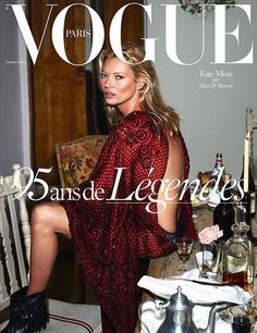 Kate Moss for Vogue Paris