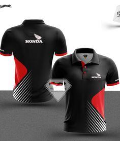 Sport Shirt Design, Honda, Corporate Uniforms, Sports Shirts, Sport Outfits, Shirt Designs, Fashion Design, Packers, Design Ideas