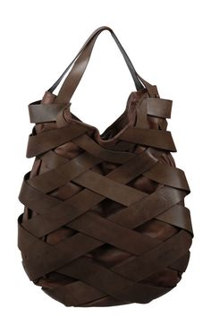 Leather strap bag by ...