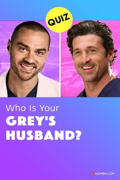 Grey's Anatomy husband match! Find your Grey's husband by answering these personality quiz! There's only winning on this Greys husband quiz! #greys #GreysAnatomy #greysquiz #greysnostalgia #greysAnatomyTrivia #mcdreamy #mcdreamy Hot Doctor, Callie Torres, Greys Anatomy Facts, Arizona Robbins, Cristina Yang, Meredith Grey, Toned Abs, Grey's Anatomy, Quizzes