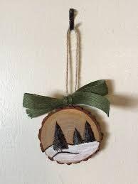 Resultado de imagen de log ornament