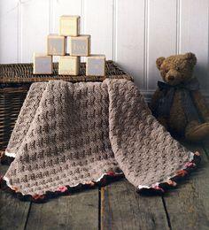 Comfort Baby Blanket Crochet PATTERN